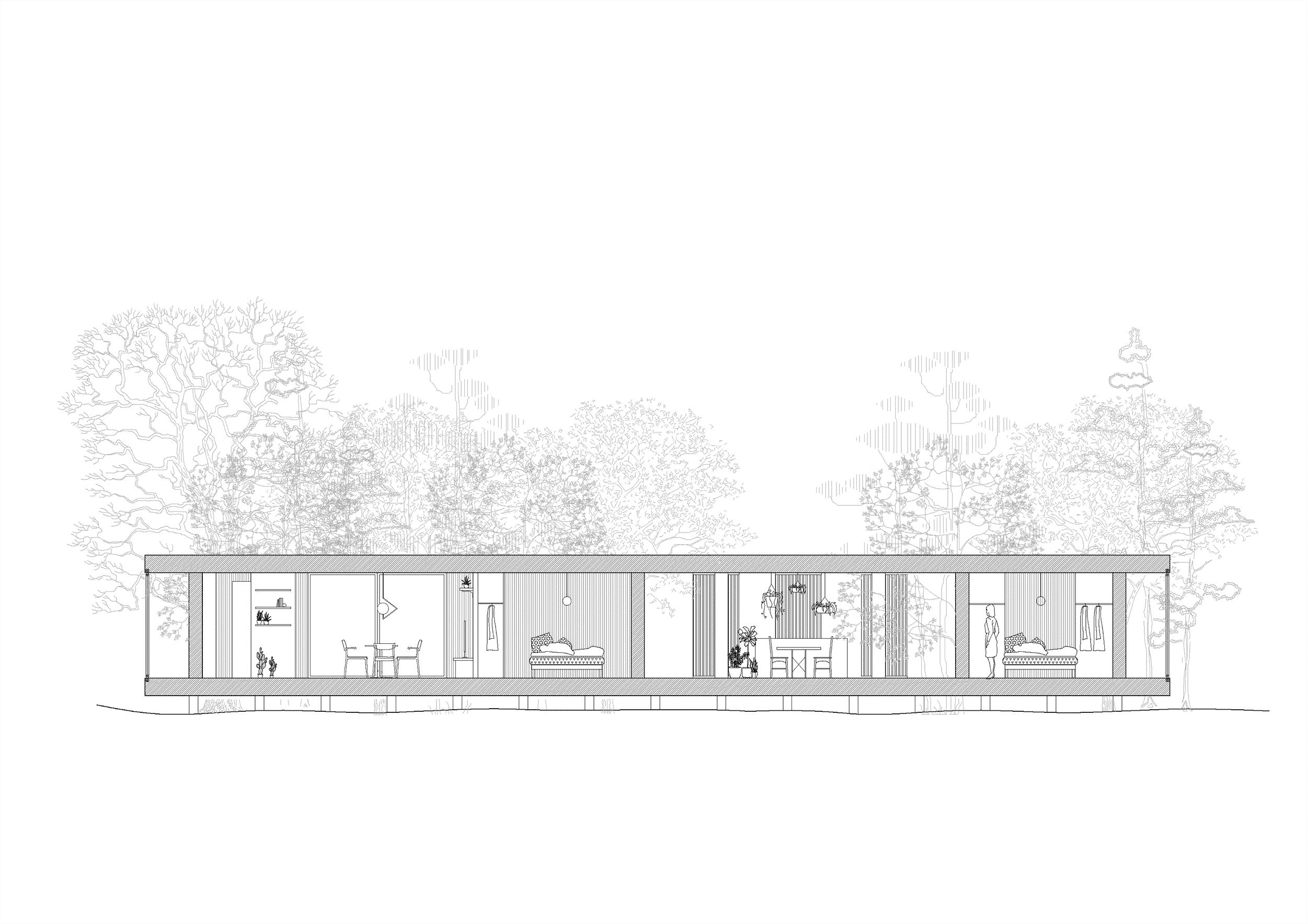 Nyckelfärdigt attefallshus kombinerat till fritidshus