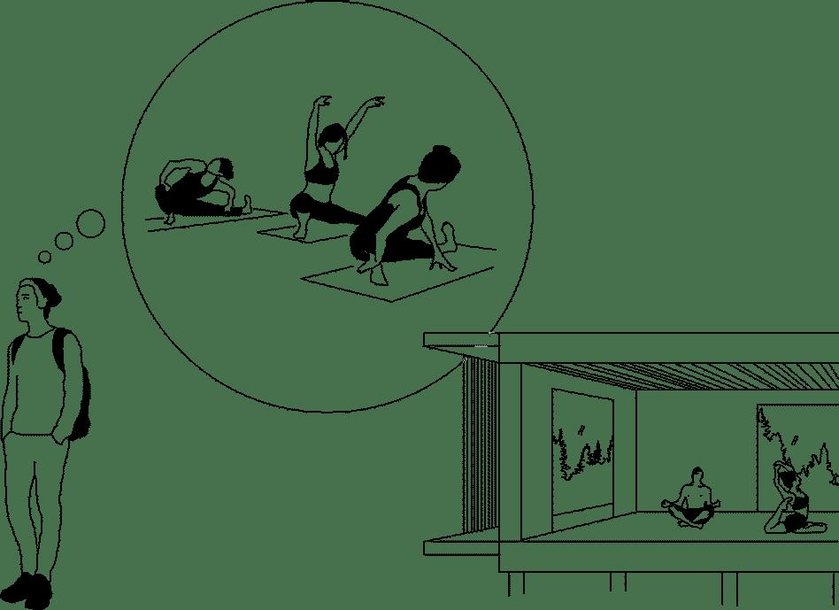 Miljövänlig nyckelfärdig friggebod och Yogastudio