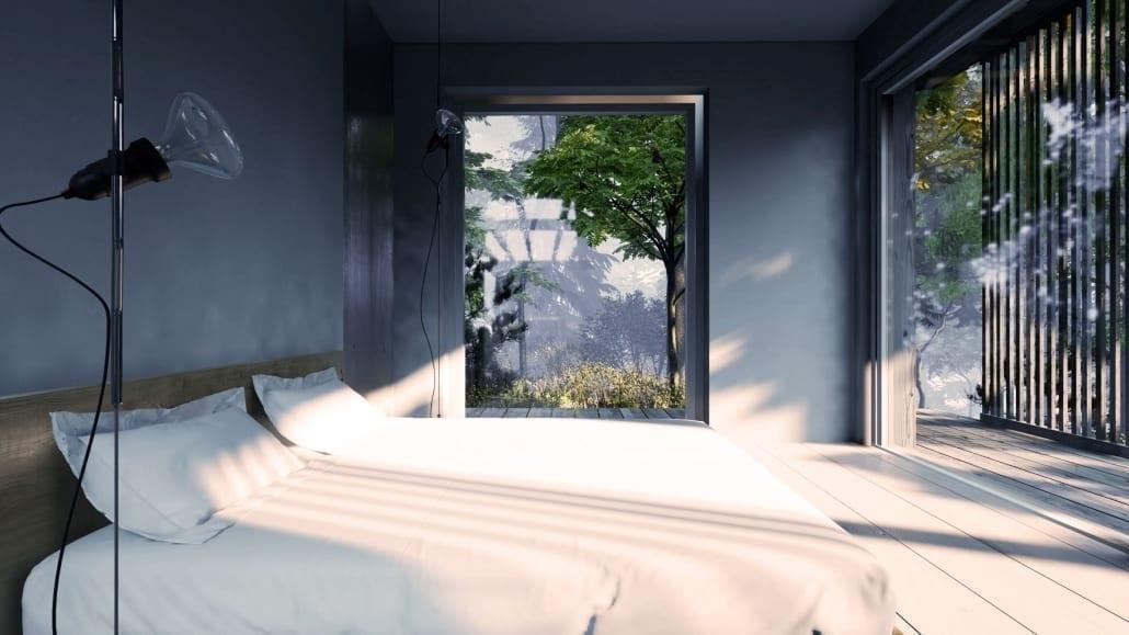 Nyckelfärdigt hus - Sovrum