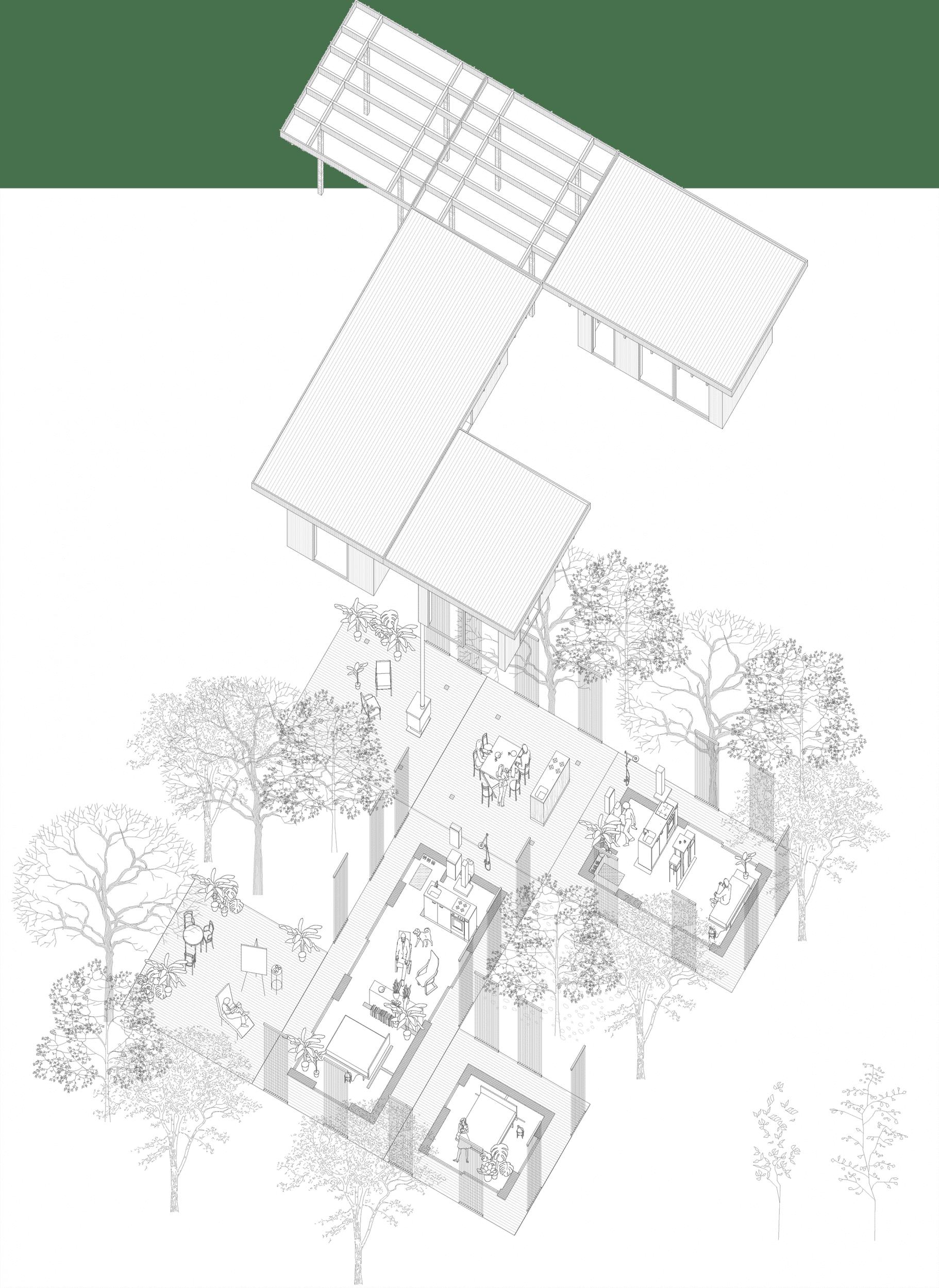 Nyckelfärdiga hus i kombinationer
