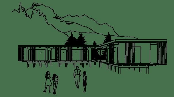 Attefallshus och arkitektritad
