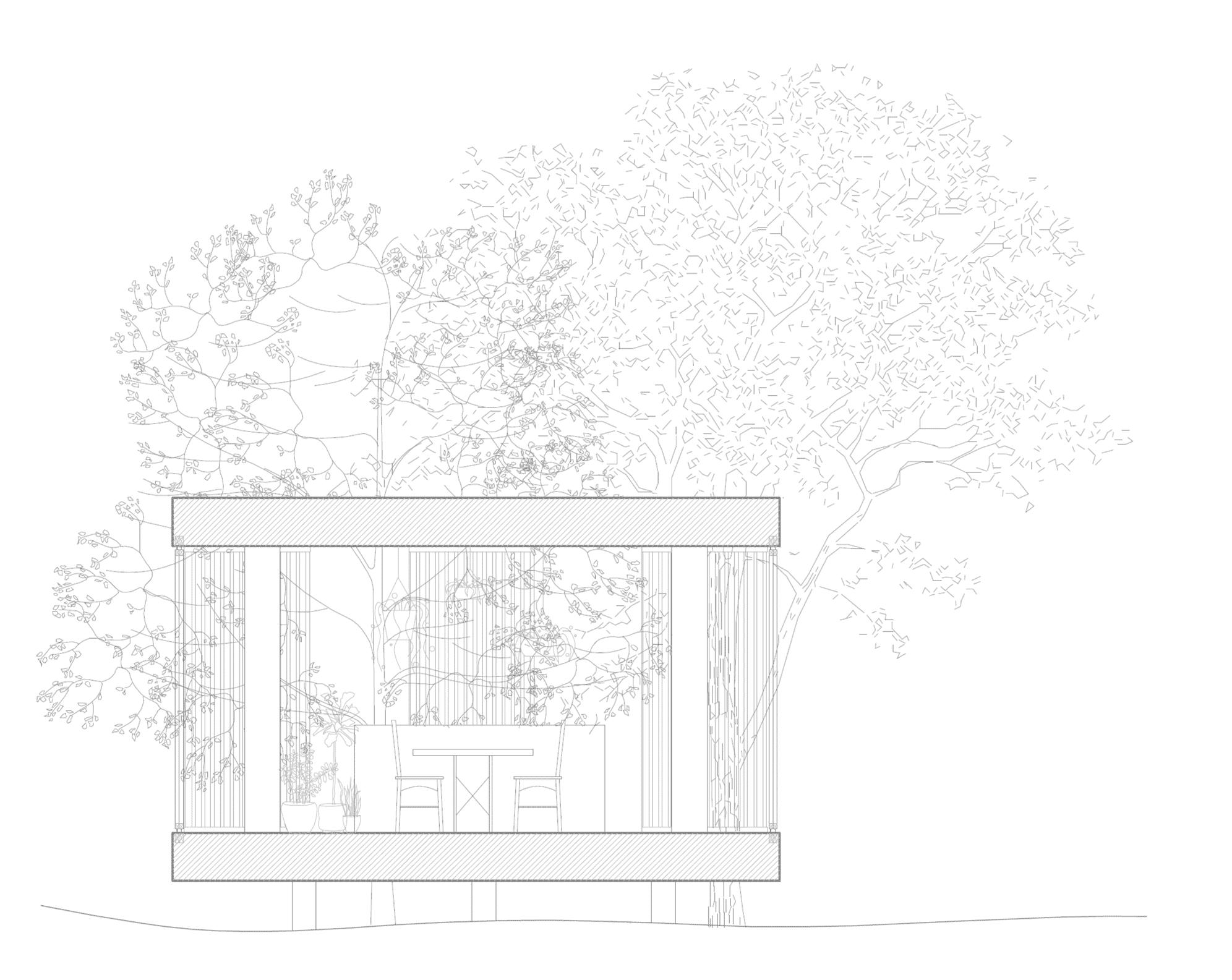 Nyckelfärdigt hus med pergola