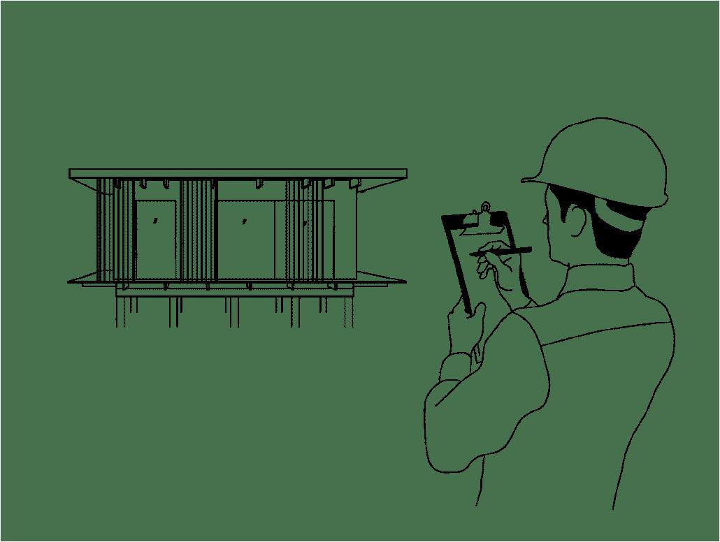 Leverans och montering av ett nyckelfärdigt hus
