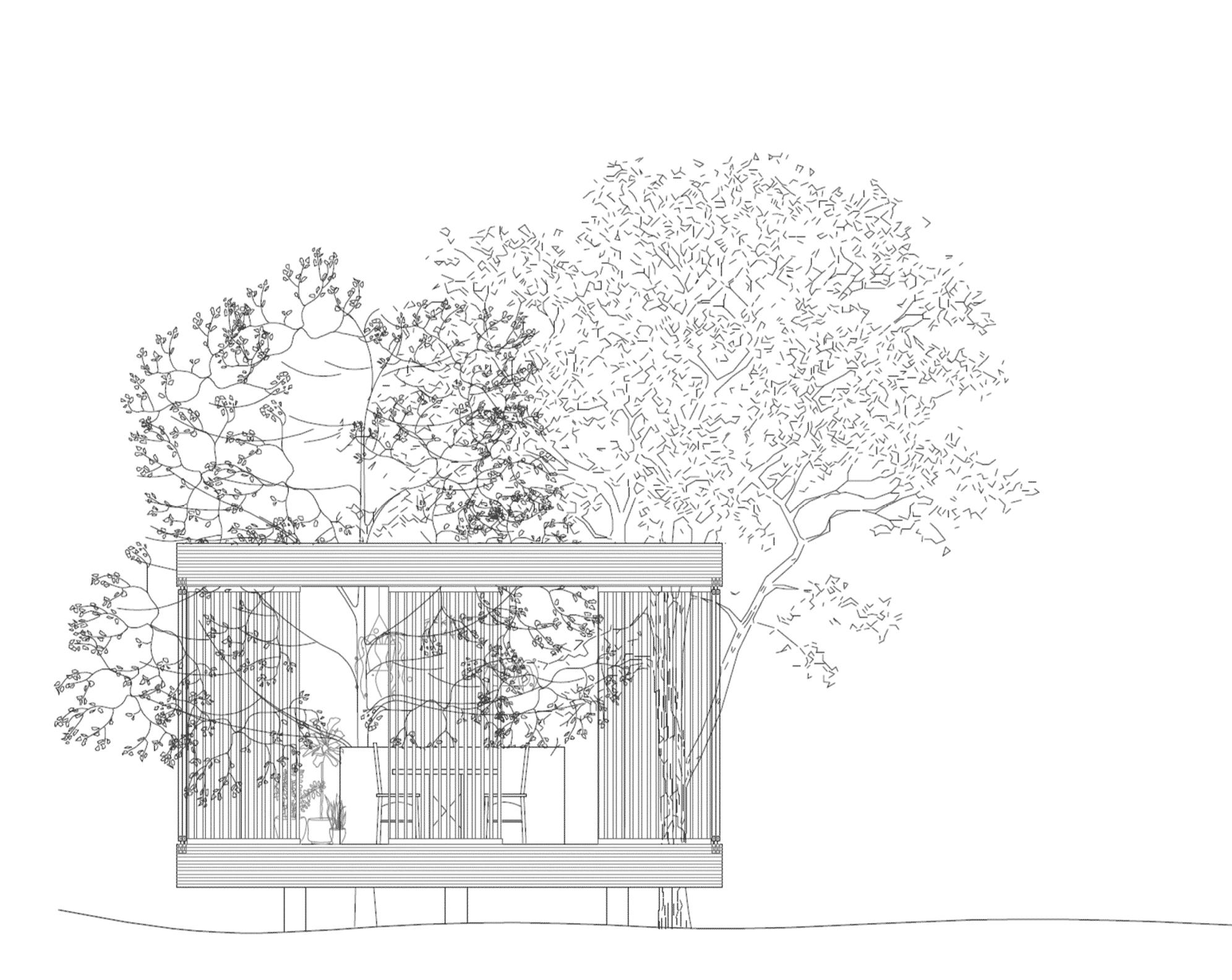 Sommarhus pergola