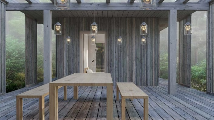 Arkitektritat fritidshus