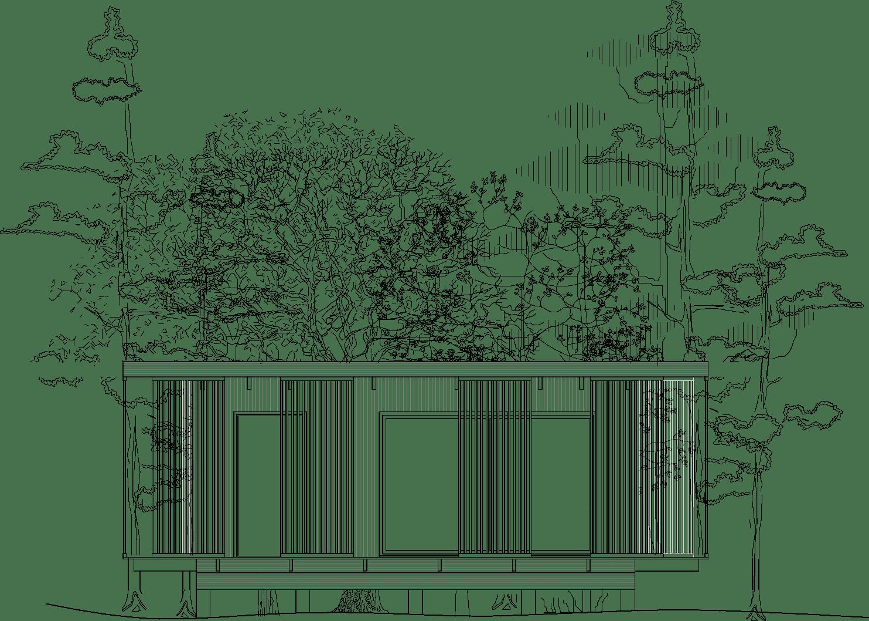 Attefallshus arkitektritat