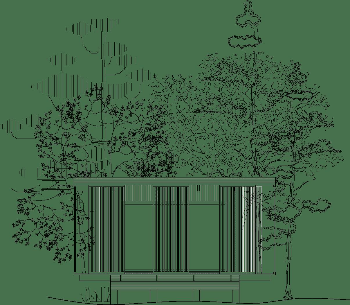 Miljövänligt hus - Yogastudio