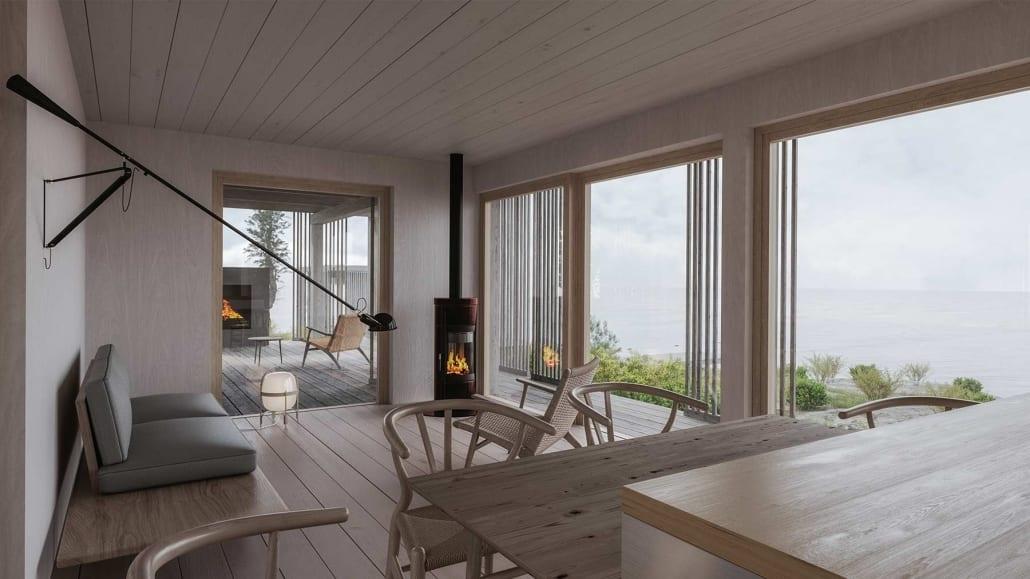 Nyckelfärdiga hus skandinavisk design